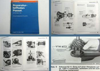 Reparaturleitfaden VW Passat 32B 5 Gang Getriebe 013 093 ab 81 Werkstatthandbuch