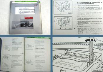 Reparaturleitfaden Audi A4 B5 1,8l 5V 92kW Motronic Werkstatthandbuch 1999