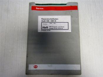 Werkstatthandbuch Audi 100 A6 C4 2.8 MPI Einspritz- Zündanlage 6-Zyl AAH AEJ