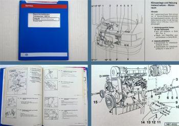 Reparaturleitfaden VW Transporter T4 Werkstatthandbuch Heizung Klimaanlage 1995