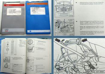 2 orig Reparaturleitfaden Audi 100 C4 Automatisches Getriebe 097 + Eigendiagnose
