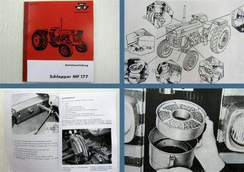 Massey Ferguson MF 177 Traktor Betriebsanleitung