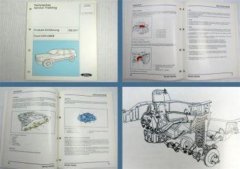 Werkstatthandbuch Ford Explorer Produkteinführung Schulungsunterlage 1992