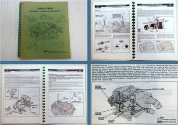 Ford 2700/7200 Variable Venturi Carburetor operators manual Vergaser Bedienung