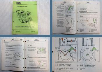 Werkstatthandbuch Ford Sierra mit 1.8 CVH Motor Schulungshandbuch 1989