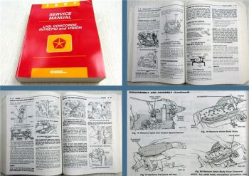 Chrysler LHS Concorde Intrepid Vision model code LH 1997 Service Manual
