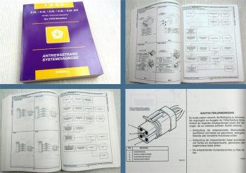 Chrysler Dodge Plymouth 1996 Diagnosehandbuch Antriebsstrang Werkstatthandbuch