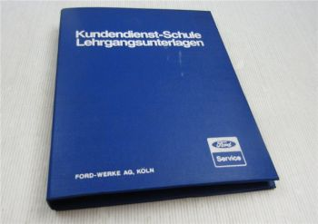 Ford Technical Training Body Chassis Engine Electric Mark VII SVO Mustang 1984