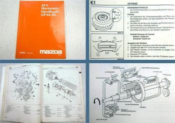 Mazda Xedos 9 Automatikgetriebe GF4A-EL ATX Werkstatthandbuch 1993