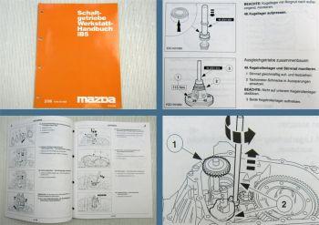 Mazda  Getriebe iB5 zb Mazda 121 Werkstatthandbuch 1996