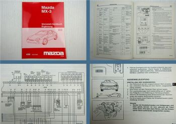 Werkstatthandbuch Mazda MX-3 EC Ergänzungsband 1996 ab JMZ EC13B2 / C2/ C5
