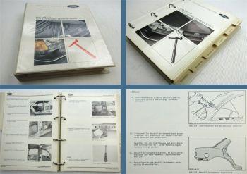 Werkstatthandbuch Ford Karosserie Reparatur Sierra Scorpio Granada Transit