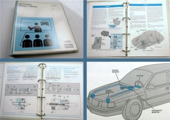 Ford Lincoln Mercury 1992 New Model Features AOD-E Technical Service Training