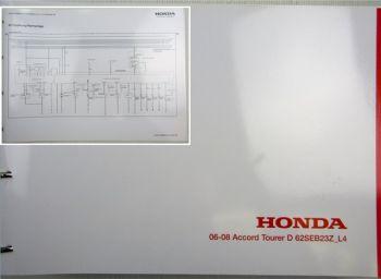 Honda Accord L4 Schaltpläne Stromlaufpläne Schaltplan Elektrik MJ 2006 - 2008