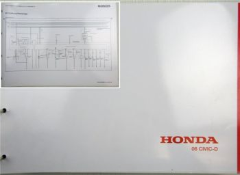 Honda Civic D Schaltpläne Stromlaufpläne Elektrik Elektrischer Schaltplan 2006