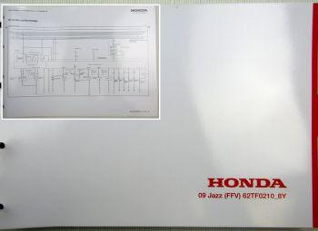 Honda Jazz 8Y Elektrische Schaltpläne Stromlaufpläne Schaltplan Elektrik 2009