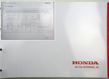 Honda City 4A Elektrische Schaltpläne Stromlaufpläne Schaltplan Elektrik 2009
