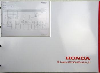 Honda Legend  FJ Elektrische Schaltpläne Stromlaufpläne Schaltplan Elektrik 2009