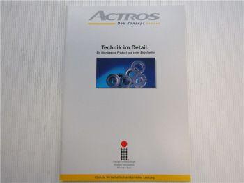 Mercedes Benz Actros Technik im Detail Einführungsschrift 1996
