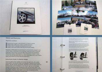 Mercedes Benz Tokyo Motor Show 2001 Pressemappe Press information +  Fotos