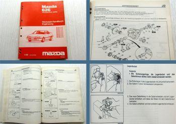 Werkstatthandbuch Mazda 626 Typ GD 4WD 4x4 Allrad Vierradantrieb 1990
