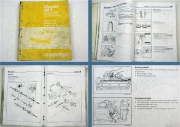 Mazda 323 Werkstatthandbuch B6 DOHC PN Diesel Motor Reparaturanleitung 1986