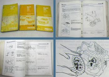 Mazda 323 Kombi Typ BW Werkstatthandbuch + 4WD Allrad 1986 1987 1989