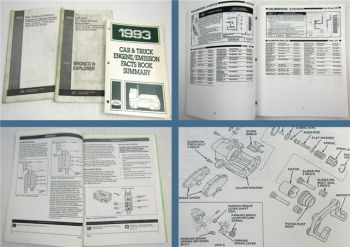 Ford 1993 Bronco Explorer New Model Training Reference Book + Facts Book Summary