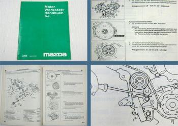 Reparaturanleitung Mazda XEDOS 9 MX-6 KJ Motor V6 Werkstatthandbuch 1995