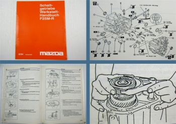 Mazda MX-3 und 323 Getriebe F25M-R Werkstatthandbuch 1994