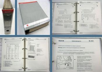 Werkstatthandbuch Audi A8 D2/4D 1994 1995 1996 Stromlaufpläne Elektrik