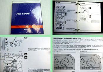 Werkstatthandbuch Fiat PKW A-Z Code Handbuch Motor Sperrsystem 1995