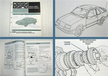 Ford Merkur XR4Ti Service Features Technical Training Schulung 1984