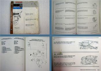 Mariner Mercury 20 25 Reparaturanleitung Werkstatthandbuch Service Manual