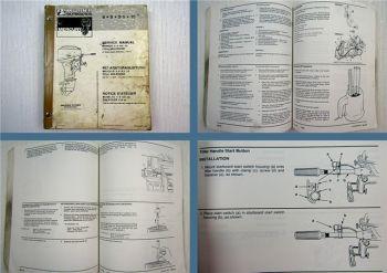 Mariner Mercury 6 8 9.9. 15 Reparaturanleitung Werkstatthandbuch Service Manual