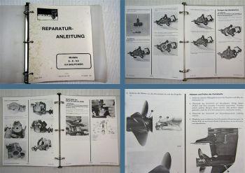 Mariner Mercury 6 8 9.9 Sailpower Reparaturanleitung Werkstatthandbuch