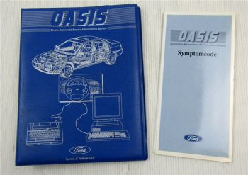 Ford Oasis Online Automobil Service Informaions System Bedienung Handbuch 1994
