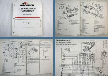 Mercruiser Diesel Engines Model Year 1995 Technicians Handbook