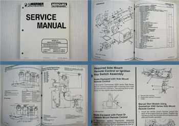 Mariner Mercury 30 40 Marathon Sea Pro 2 Cylinder Service Manual 1997