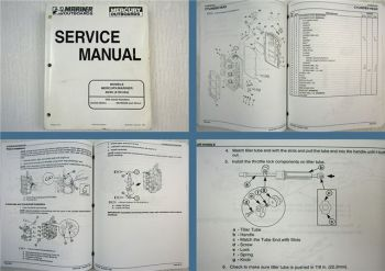 Mariner Mercury 30 40 4-Stroke Service Manual 1998