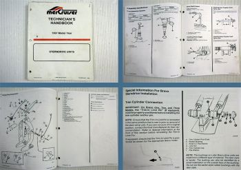 Mercruiser Stern Drive Units Model Year 1997 Technicians Handbook