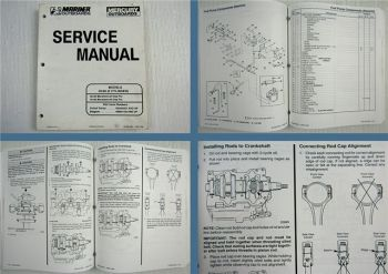 Mariner Mercury 30 40 Marathon Sea Pro 2 Cylinder Service Manual 1996