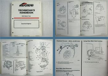 Mercruiser Gasoline Engines Model Year 1994 Technicians Handbook