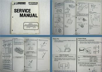 Mariner Mercury 50 4-Stroke Outboard Service Manual 1994