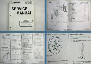 Mariner Mercury 40 45 50 Bigfoot 4-Stroke Outboard Service Manual 1997