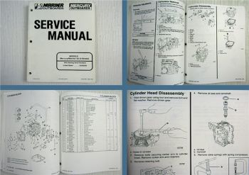 Mariner Mercury 25 4-Stroke Outboard Service Manual 1997