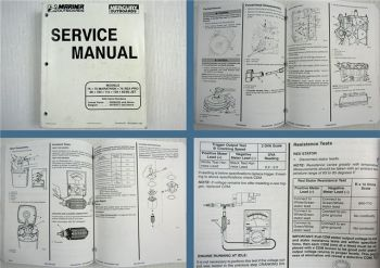 Mariner Mercury 75 Sea Pro Marathon 90 100 115 125 65 / 80 Jet Service Manual