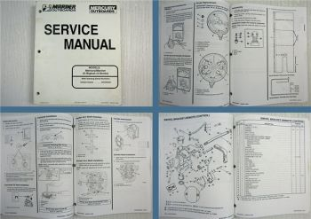 Mariner Mercury 25 Bigfoot 4-Stroke Outboard Service Manual 1998
