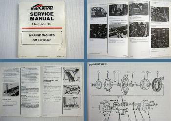 Mercruiser GM 4 Cyl. Marine Engines Service Manual 1989