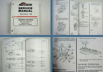Mercruiser  MCM 4.3L Alpha Bravo Magnum GM V6 262 CID Servie Manual 1996